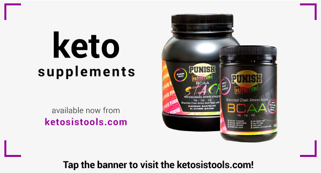 Ketosis Tools Punish BCAA Supplements Nutrition Peter Andros